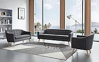 Комплект мягкой мебели Florence, темно-серый