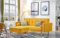 Диван-кровать Scandinavia, желтый цвет