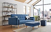Диван-кровать Scandinavia, темно-синий цвет