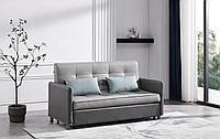 Диван-кровать Claire (2-спальный), серый/темно-серый