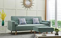 Диван-кровать Scandinavia, цвет бирюзовый
