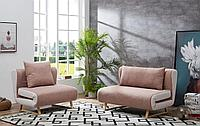 Комплект мягкой мебели Rosy, коралловый