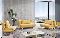 Комплект мягкой мебели Rosy, желтый
