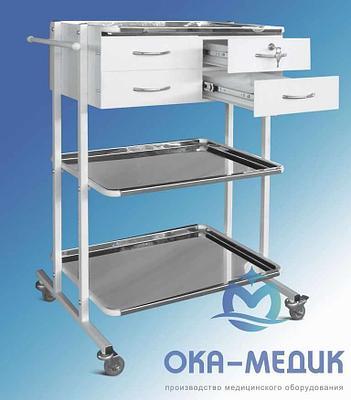 Столик медицинский анестезиолога СМа-9«Ока-Медик»