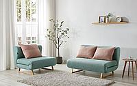 Комплект мягкой мебели Rosy, мята/коралловый