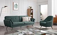 Комплект мягкой мебели Edinburgh, зеленый