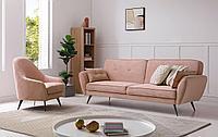 Комплект мягкой мебели Edinburgh, розовый