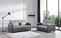 Комплект мягкой мебели Claire, серый/темно-серый