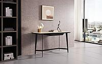 Стол письменный Bernard (140), кремовый/черный