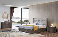 Кровать с подъемным механизмом Ferrara 160х200, каштан