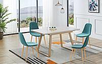 Стол Norfolk + 4 стула Alister