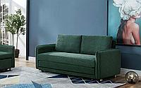 Диван-кровать Arizona 3-х местный, темно-зеленый