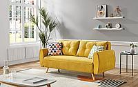 Диван-кровать Beatrix, желтый