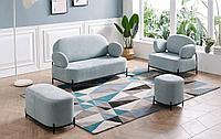 Комплект мягкой мебели Coco, голубой
