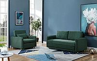 Комплект мягкой мебели Arizona, темно-зеленый