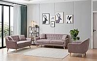 Комплект мягкой мебели Stockholm, пепельная роза