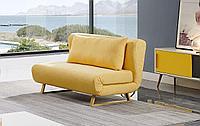 Диван-кровать Rosy 2-х местный, желтый/без принта