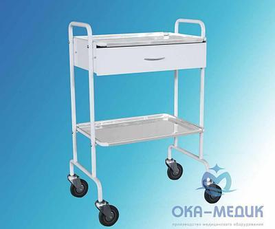 Столик медицинский манипуляционный СМм-3-«Ока-Медик»