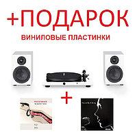 Комплект Pro-Ject Jukebox E + Speaker Box 5 белый
