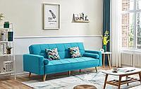Диван-кровать Scandinavia, цвет лазурный