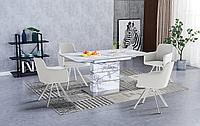 Стол Gustav + 4 стула Tori