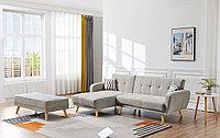 Диван-кровать Christy угловой (левый), серо-бежевый цвет