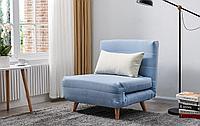 Кресло-кровать Flex, голубой