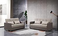 Комплект мягкой мебели Claire, бежевый/коричневый