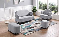 Комплект мягкой мебели Coco, серый