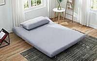 Диван-кровать Rosy 3-х местный, серый/без принта