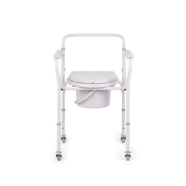 """Кресло-коляска для инвалидов FS 696 """"Armed"""" (с санитарным оснащением)"""