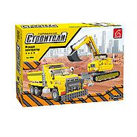 Игровой конструктор, Ausini, 29901, Строители, Строительная техника, 605 деталей, Цветная коробка