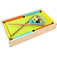 Настольная деревянная детская игра - Бильярд