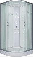 Душевая кабина Erlit ER4510P-C4 100x100x215 см, с гидромассажем спины