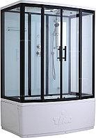 Кабина душевая TIMO Standart Т-6650 Black 150х88х220 см
