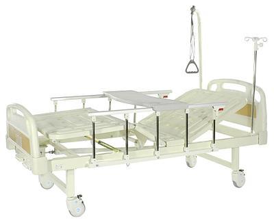 Е-8 Кровать механическая (ММ-2014Н-00)(2 функции) с полкой и столиком