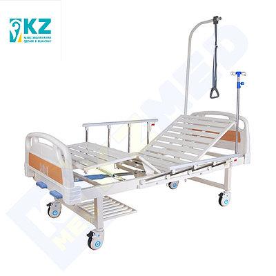 """Кровать медицинская """"KZMED"""" (204M-LE2 спинки ABS), белый"""