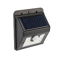 Светильник светодиодный, настенный на солнечной батарее с датчиком движения и освещенности (фотореле), 8 LED
