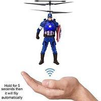 Игрушка летающая SKY HEROES 2 Induction (Капитан Америка)
