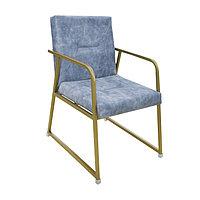 Кресло Виконт цв.каркас (Кожзам АОД/ГОБ.Stock)