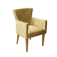 Кресло Нико цв. каркас + цвет орех (эф.дерево) (Кожзам АОД/ГОБ.Stock)