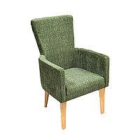 Кресло Марлен цв.каркас + цвет. орех (эфект.дер) кожзамАОД/ГОБ мультиколор