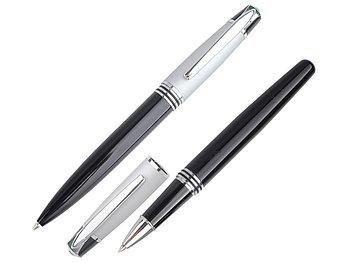 Набор Celebrity Кюри: ручка шариковая, ручка роллер в футляре
