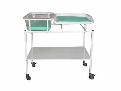 Кровать для новорожденных с пеленальным столиком КНПС «Ока-Медик»