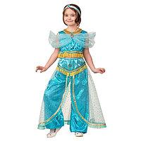 """Карнавальный костюм """"Принцесса Жасмин"""", текстиль-принт, блуза, шаровары, р.36, рост 140 см"""