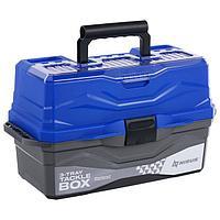 Ящик для снастей Tackle Box NISUS трёхполочный, цвет синий