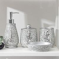 Набор аксессуаров для ванной, 4 предмета Lux