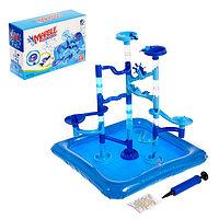 Водный аттракцион «Детская мечта», с бассейном, для игр с марблс и водой