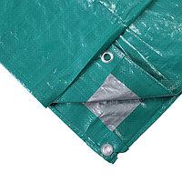 Тент защитный, 120г/м2, 5х6м, зеленый