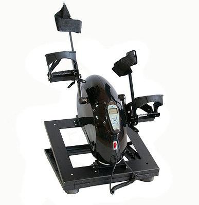 Велотренажер HM-001 AA-1 c электродвигателем с регулируемым основанием